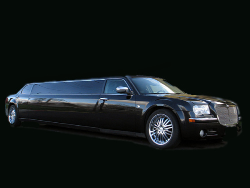 Black Chrysler limo for Hire Melbourne