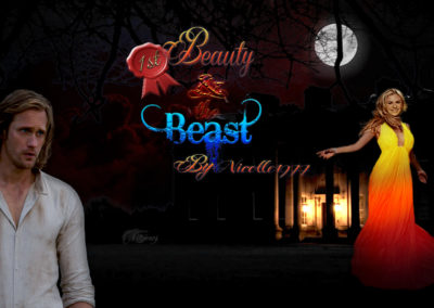 Beauty & The Beast by Nicole1911