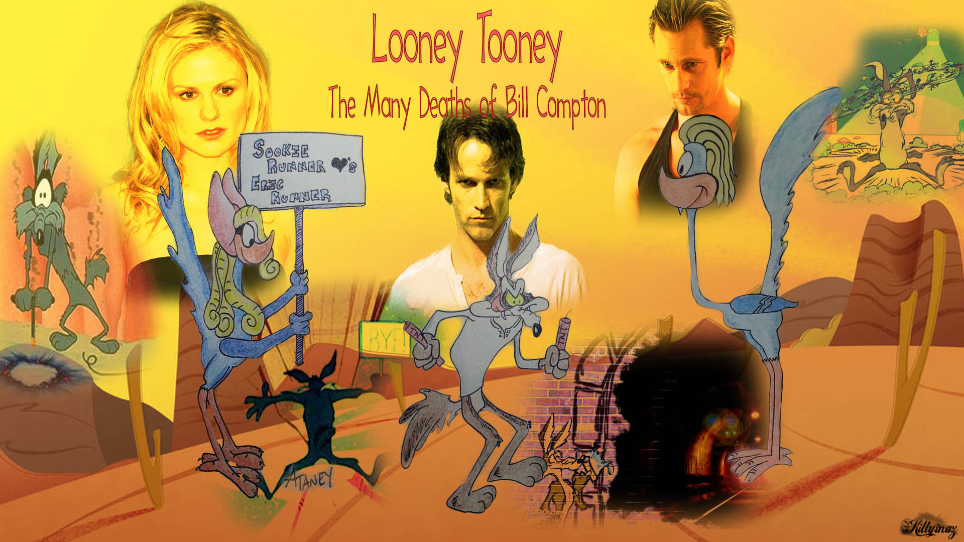 Looney Tooney – The Many Deaths of Bill Compton by tj6james6